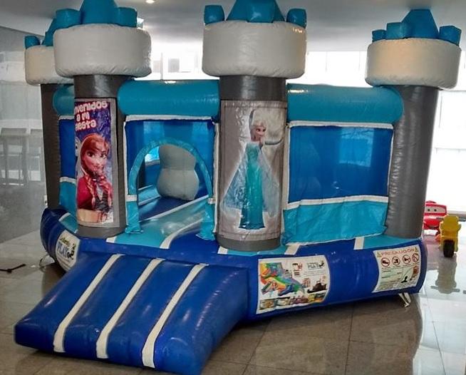 Renta de inflable Frozen Princesas